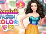 Kendall Fashion Color Test game