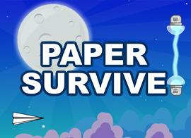 Paper Survive game