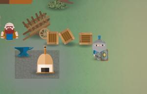 Hobbling Hero game