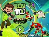 play Ben 10 Escape Route