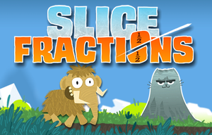 Slice Fractions: Experimental game