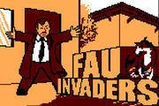 Fau Invaders game