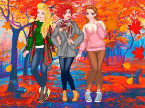 Fashion Fall Checklist game