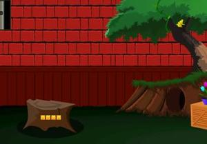 play Red Wall Cat Escape