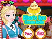 Elsa'S Ice Cream Rolls game