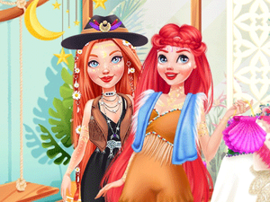 Disney Redheads Boho Hairstyles game