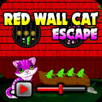 Red Wall Cat Escape Walkthrough game