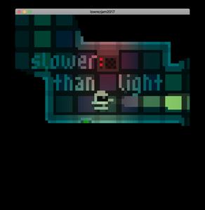 Slower Than Light game