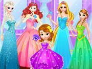Disney Princess Dress Store game
