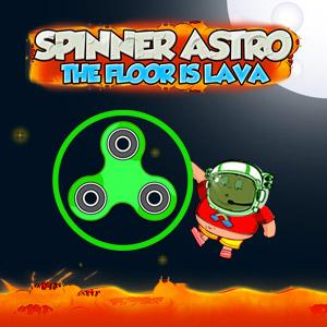Spinner Astro: The Floor Is Lava game