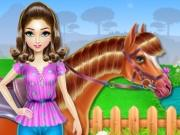 Horse Care And Riding game
