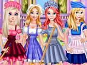 Princesses May Day Working game
