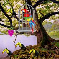 Oak Tree Forest Escape Wowescape game
