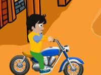 play Young Boy Motorcycle Escape