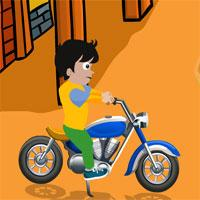 G2J Young Boy Motorcycle Escape game
