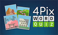 4 Pix Word Quiz game