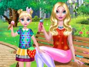 Mommy And Daughter Summer Day game