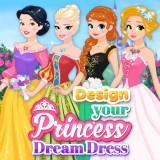 Design Your Princess Dream Dress game