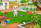 play Baby Hazel Puppy Care