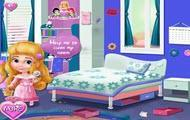 play New Baby Princess Room Cleaning