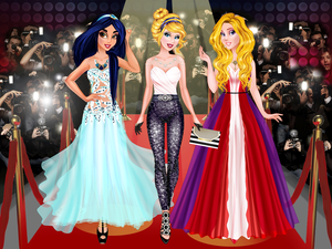 Cinderella'S Red Carpet Collection game