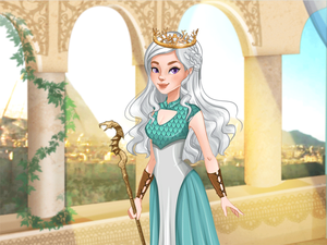 Dragon Queen Dress Up game
