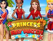 Princess Baywatch Dress Up game