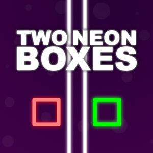Two Neon Boxes game