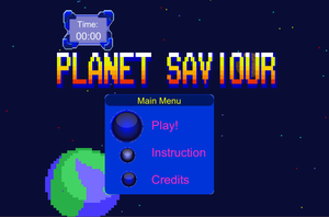 Planet Saviour game