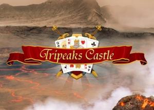 Tripeaks Castle Solitaire game