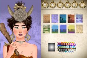 World History Avatar Creator Prehistoric game