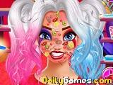 Harley Quinn Face Care And Make Up game