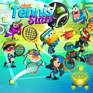 Nickelodeon Tennis Stars Sports game