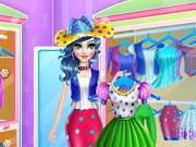 Candy Girl Dressup game