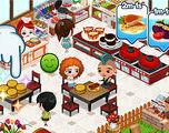Cafeland World Kitchen Girl game