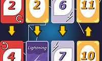 Lightning Cards game