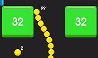 Snake And Blocks game