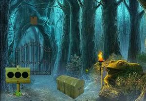 play Frog Forest Escape (8B Games