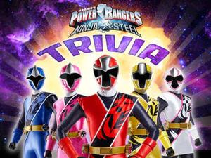 Power Rangers Ninja Steel: Trivia Quiz game