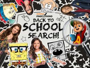Nickelodeon: Back To School Search Puzzle game
