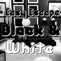 play Easy Escape-Black And White Hiddenogames
