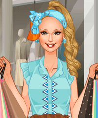 play Shopping List Dress Up Game