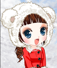play Winter Dream For Vampire Dress Up Game