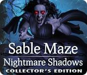 play Sable Maze: Nightmare Shadows Collector'S Edition