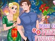 Disney Couple Princess Fabulous Date game