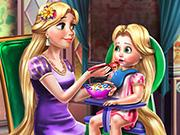 play Goldie Princess Toddler Feed