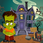 play Cute Green Zombie Rescue Escape