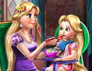 Princess Rapunzel Toddler Feed game