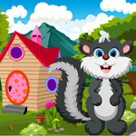 play Cute Skunk Rescue Escape