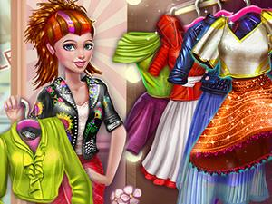 Sery Shopping Day Dress Up game